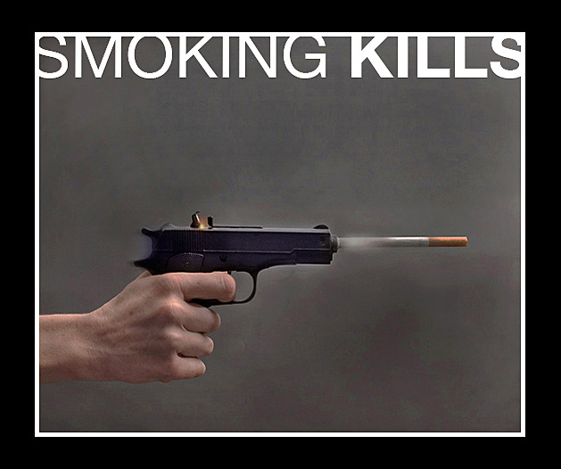 smoking kills a